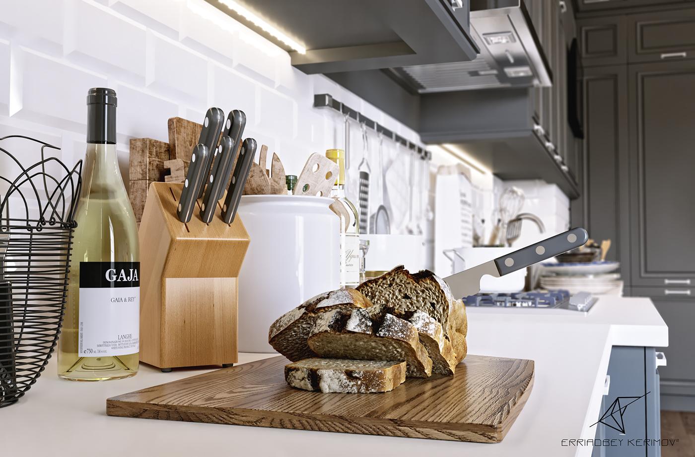 Neo Classic Kitchen on Behance
