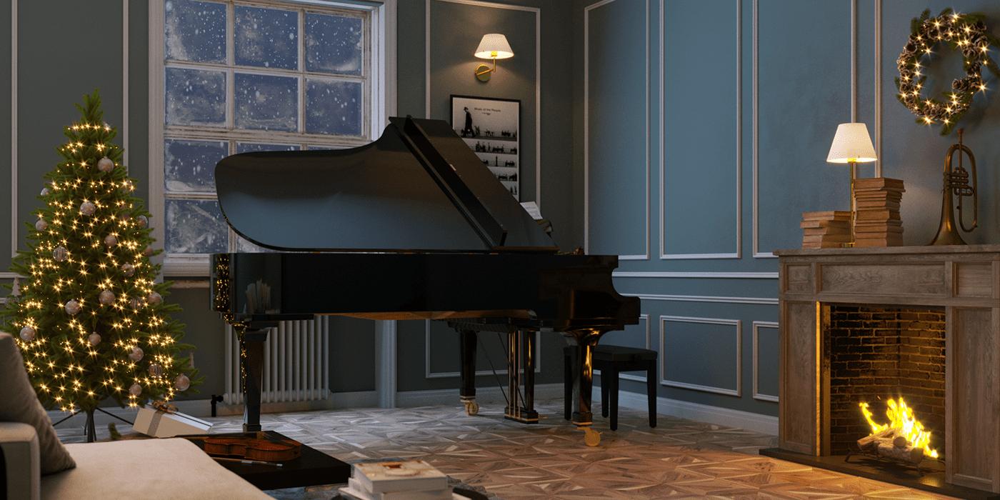 Image may contain: piano, musical keyboard and indoor