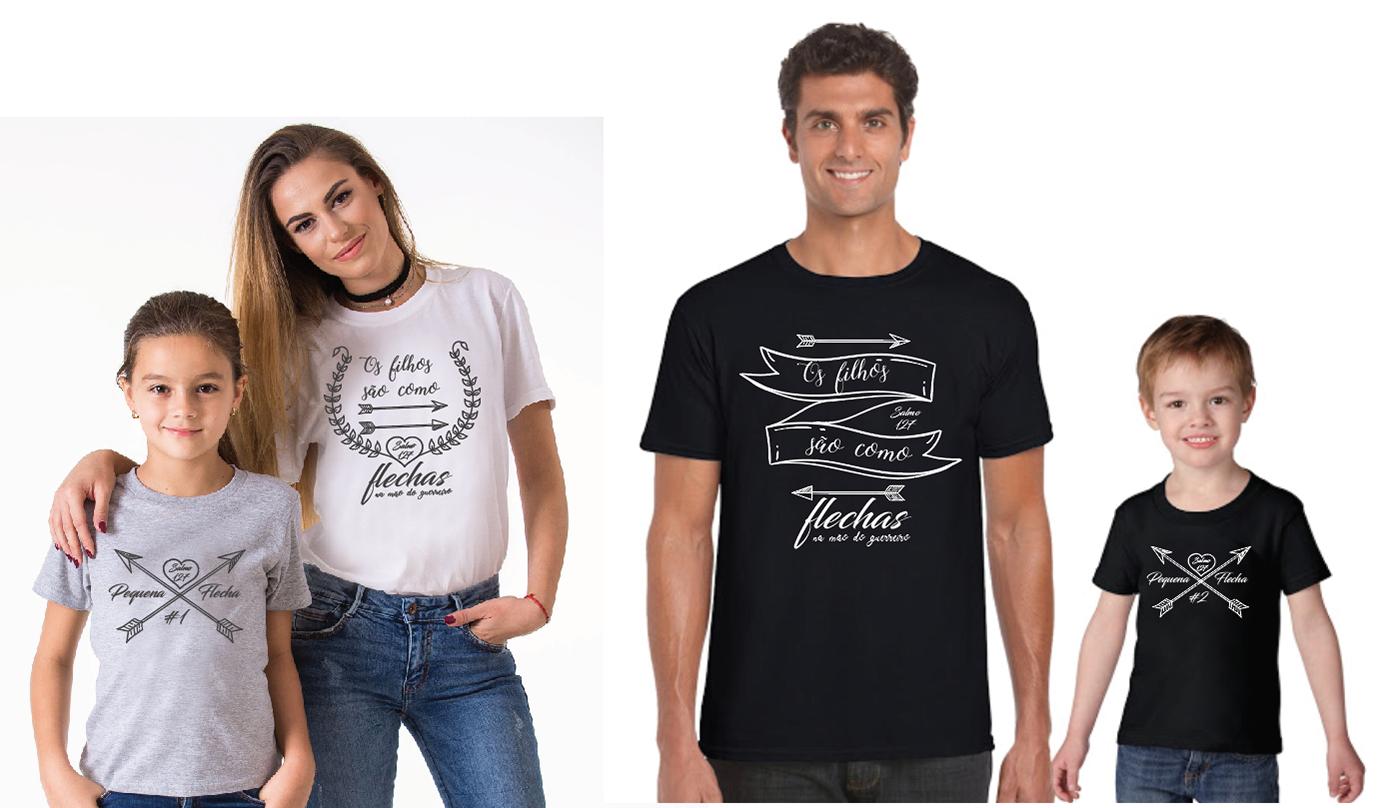 camisetas adulto e infantil silk screen sublimação tshirt design mãe e filha pai e filho heróis