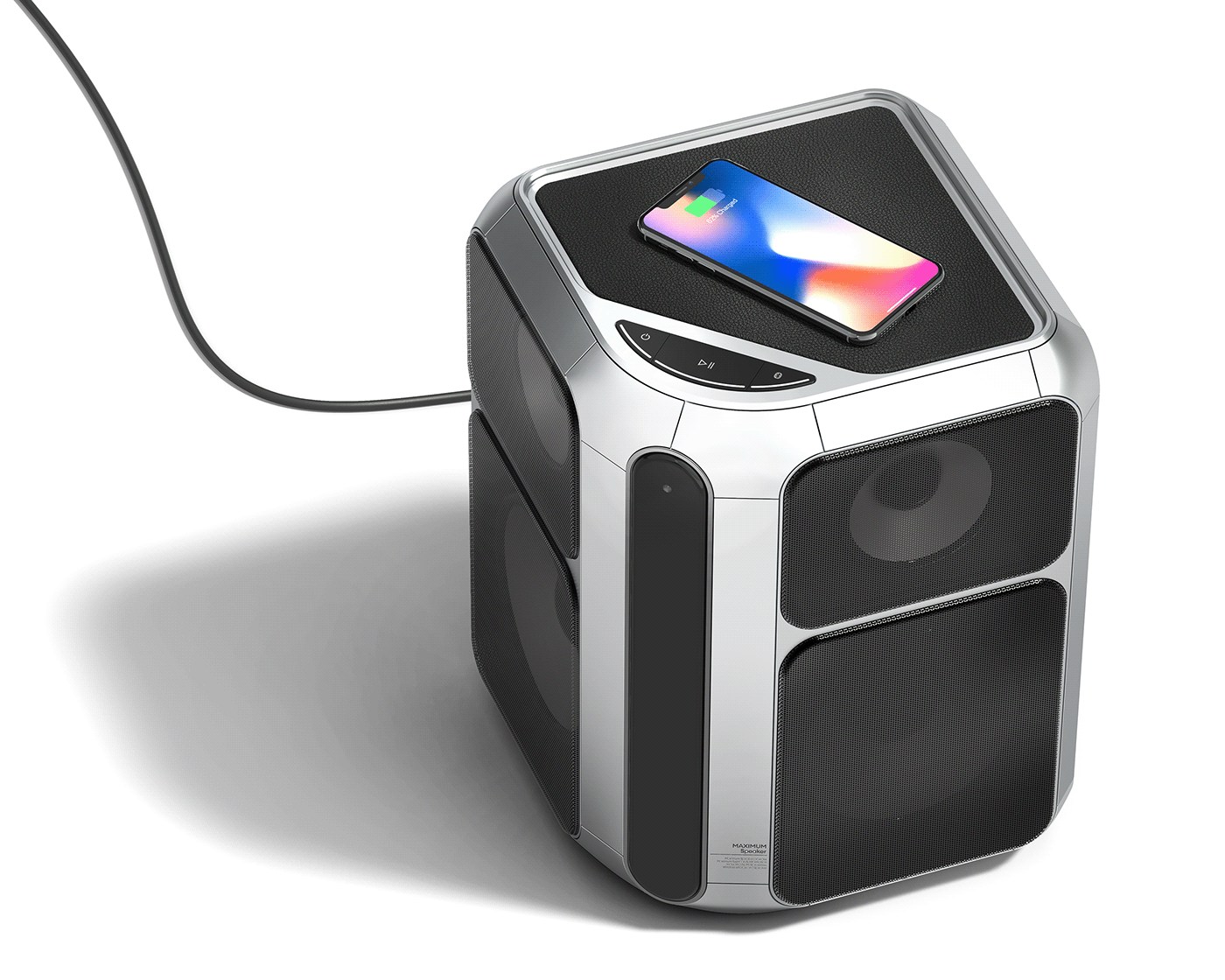 AI Speaker furniture industrial industrial design  product product design  speaker wireless Wireless Charger