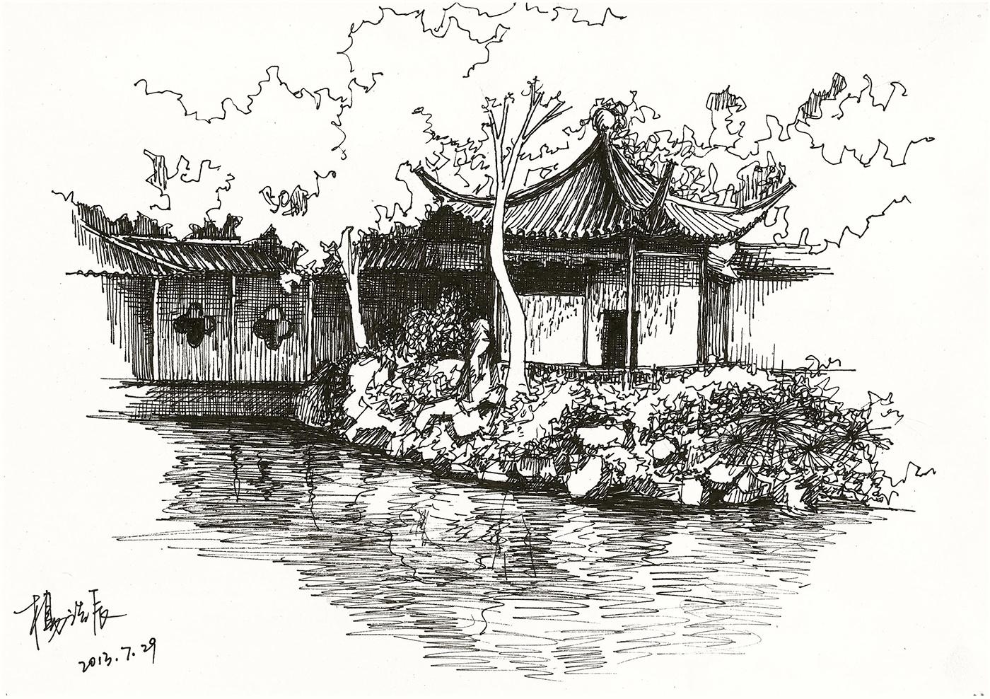 Неблагодарным людям, китайские картинки красивые нарисованные карандашом