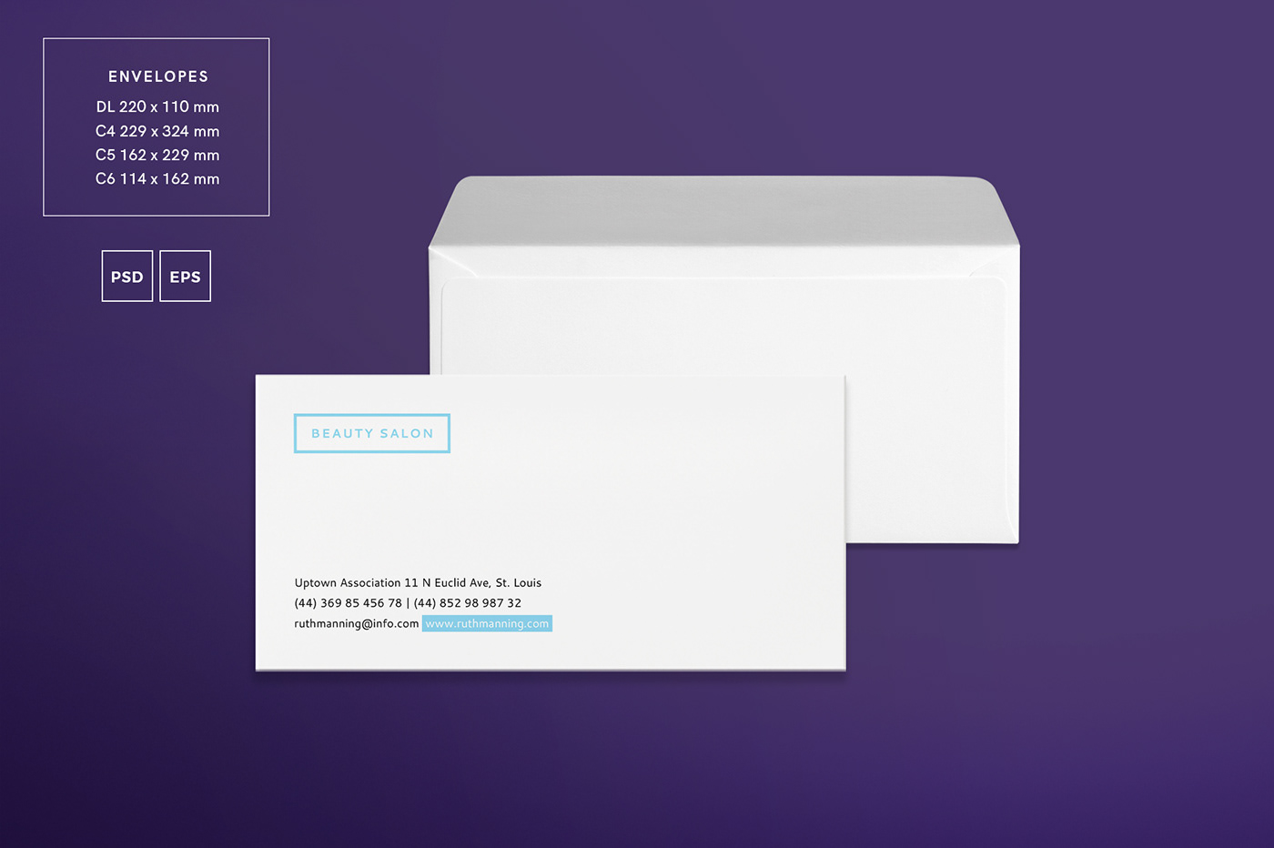 Beauty Salon | Modern and Creative Templates Suite on Behance
