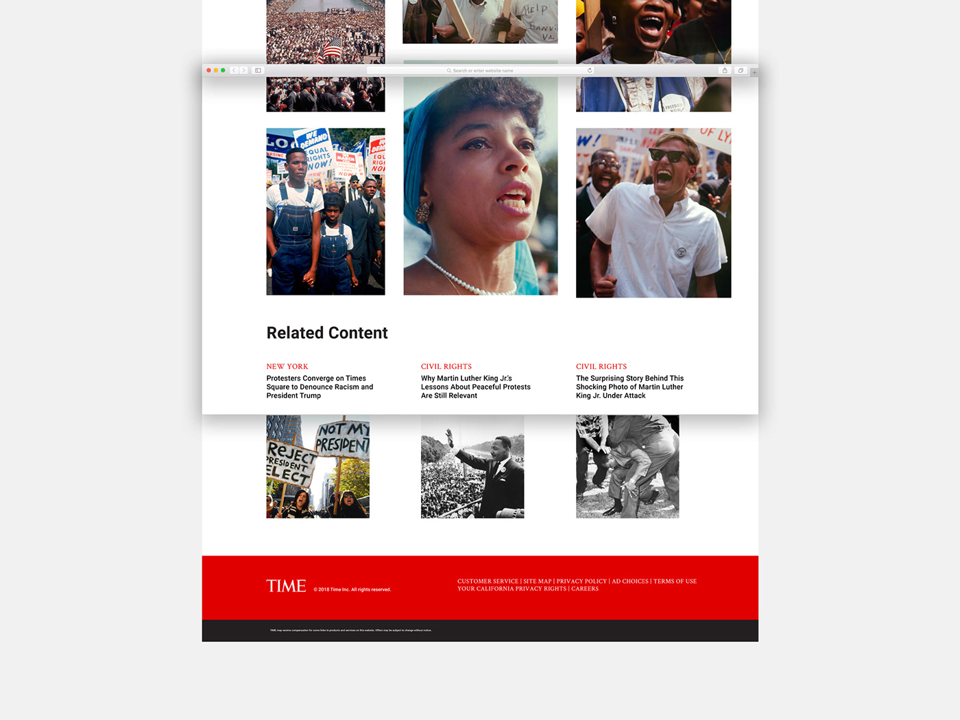 Email newsletter email newsletter time Time Magazine article news article Article Design photo newsletter