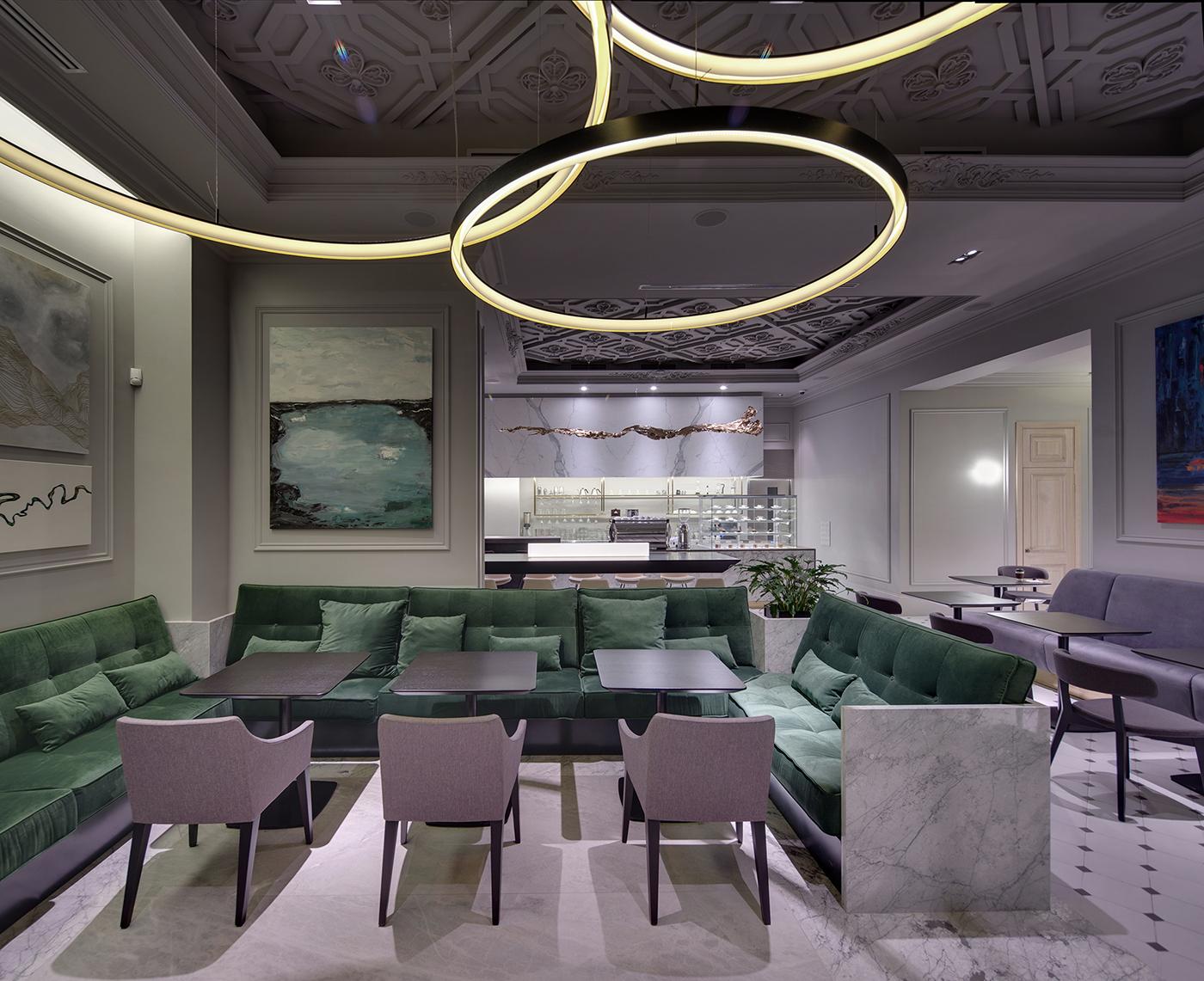 restaurant modern Interior balbek 2bgroup 2B.group Classic