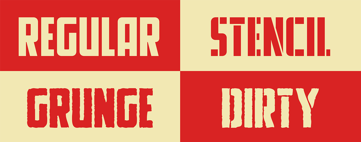 font free freebie grunge stencil Typeface typography   South Park ubisoft