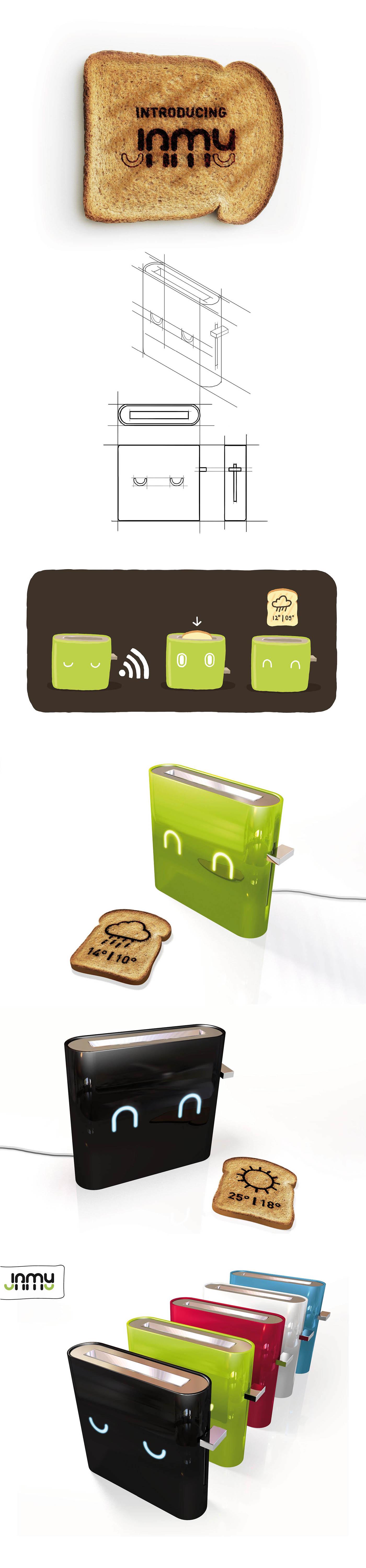 on gallery jamy behance smart toaster