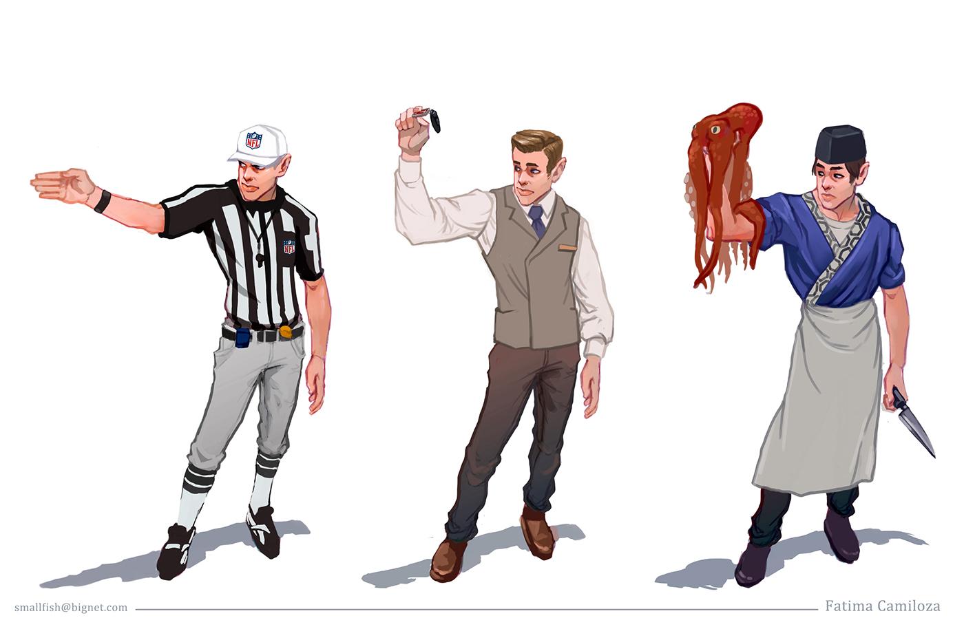 Character Design Set : Character design set on behance