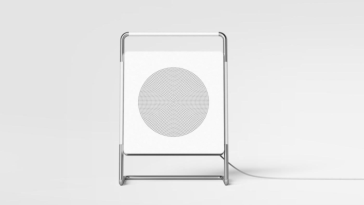 design product design  white product detail Interior Industrial Deisng potfoilo canvas art speaker