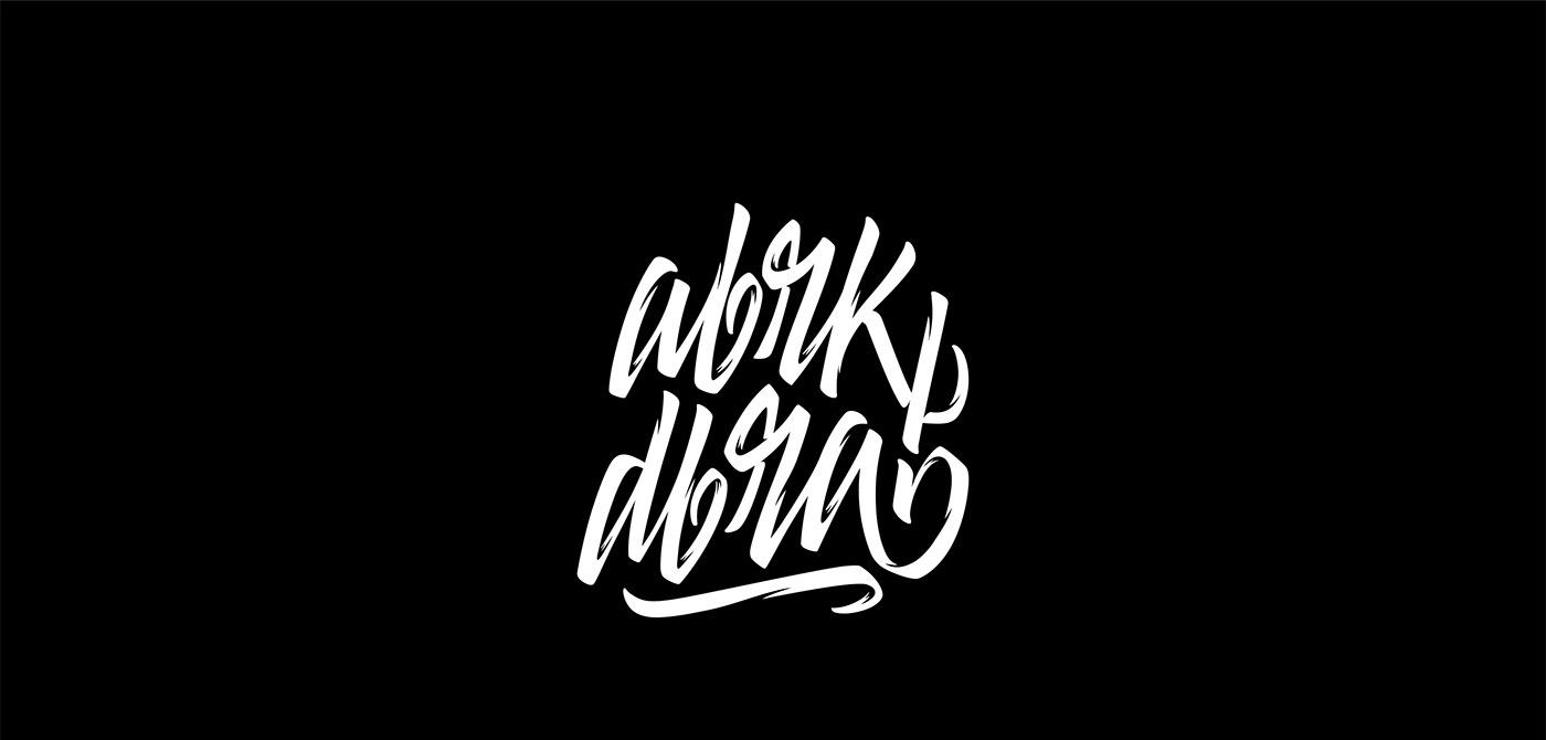 instagram lettering raw texture noise scratch ink dark expressive shots