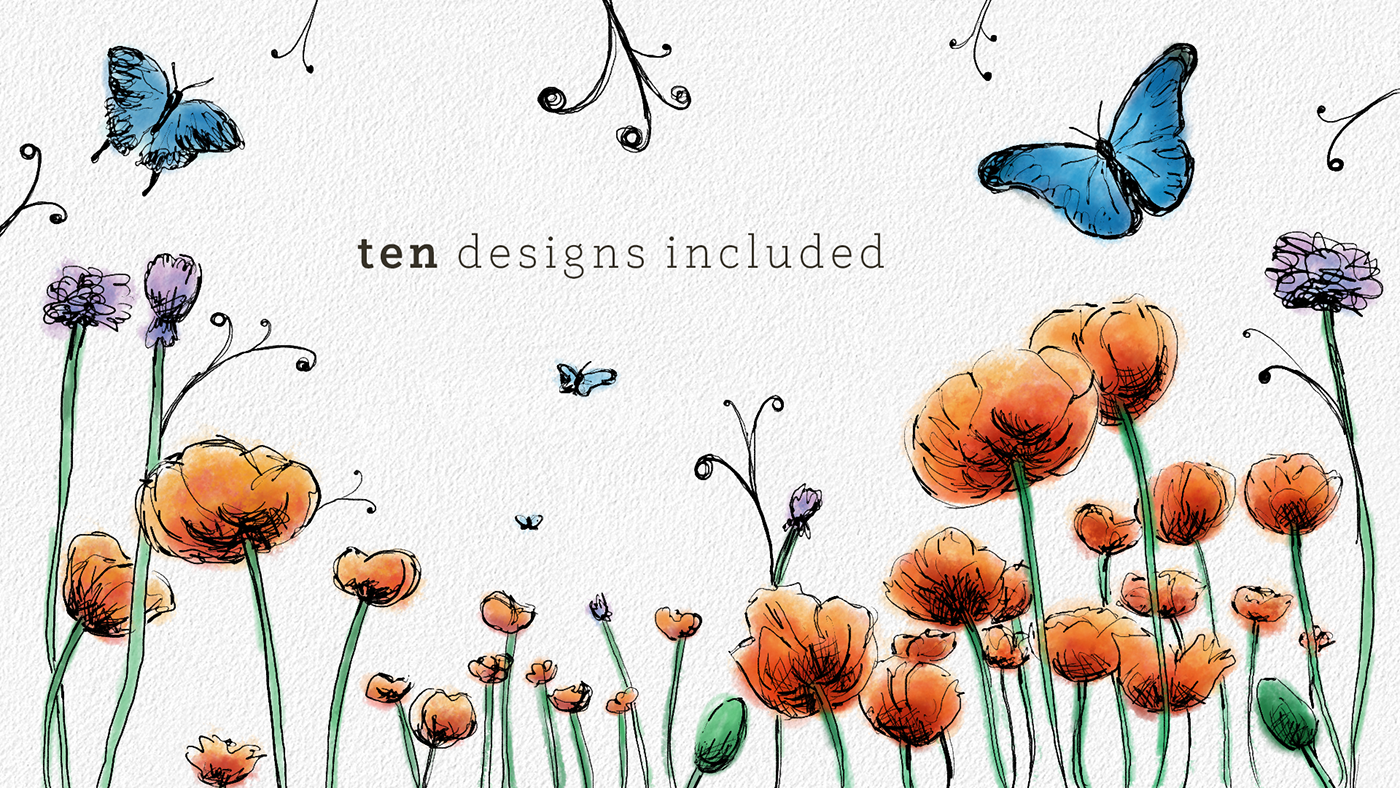 Animated Flower Title Pack | AfterEffects Download on SCAD