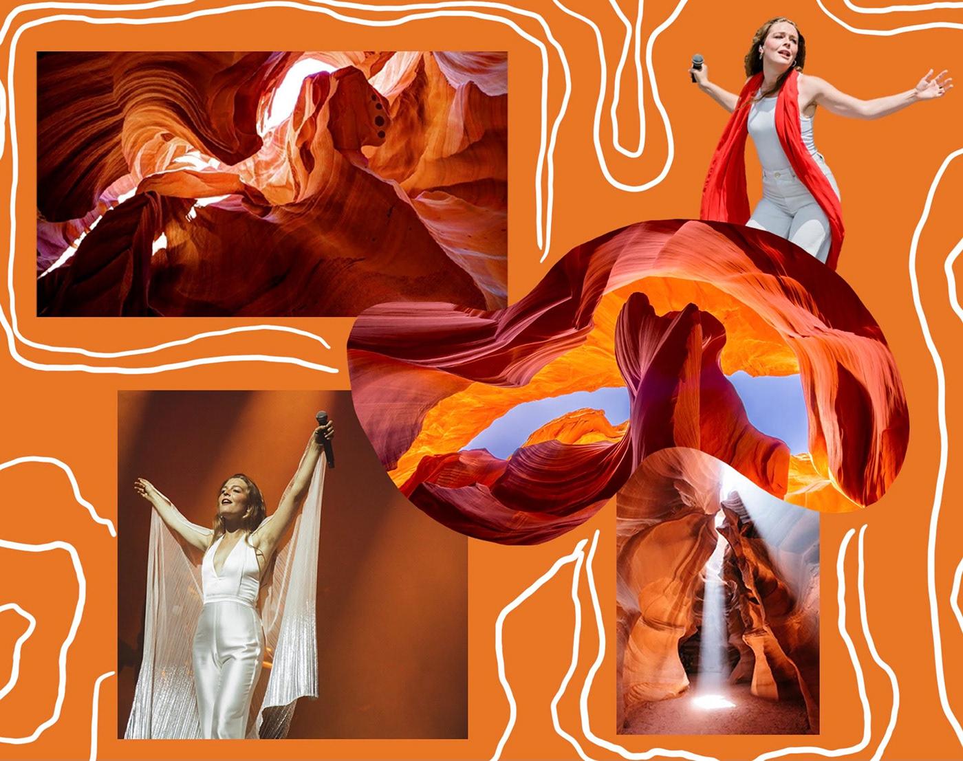 canyon Collection Fashion  fashion illustration ILLUSTRATION  sketches