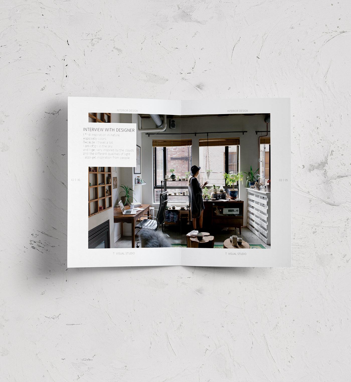 Lookbook For Interior Design On Behance