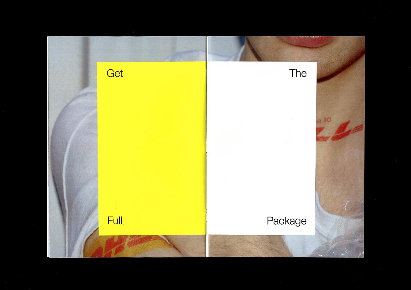 Photography  graphic design  art direction  Fashion  Zine  satire tattoo