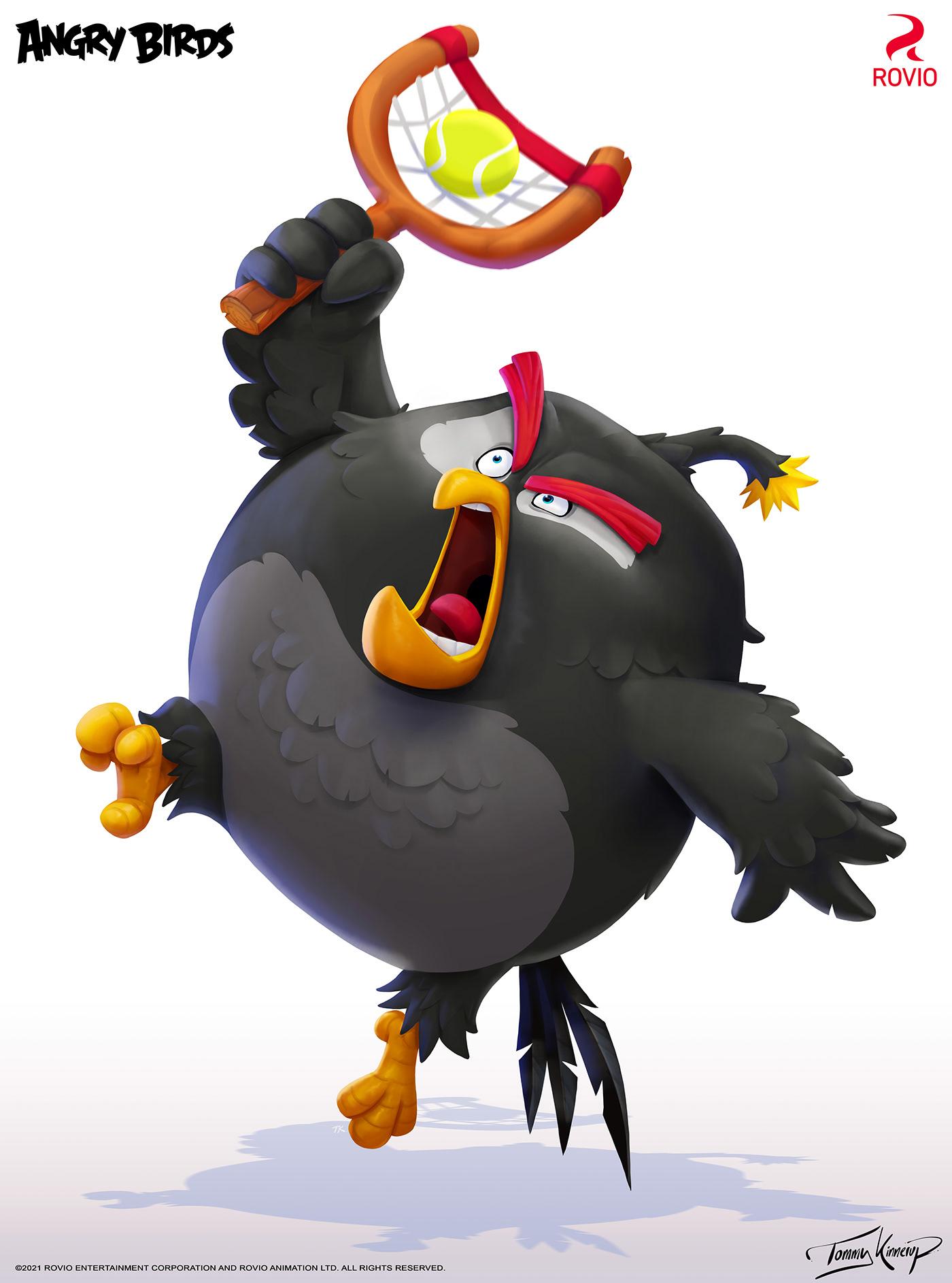 Image may contain: cartoon and bird