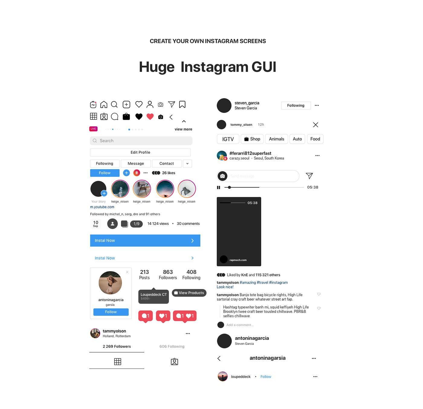 Instagram GUI Download