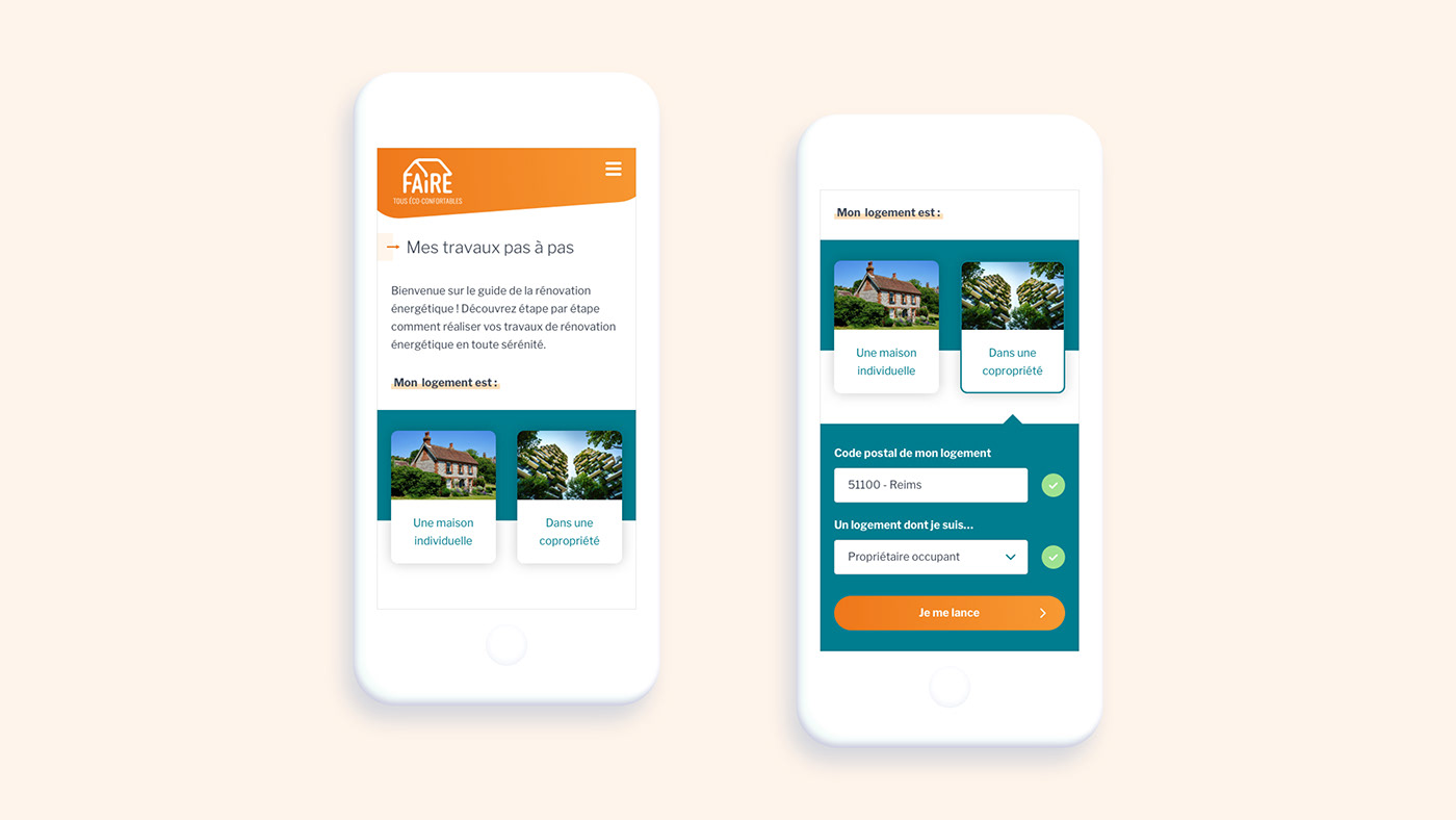 I. Introduction Pour commencer l'utilisateur choisi son type de logement : une maison ou...