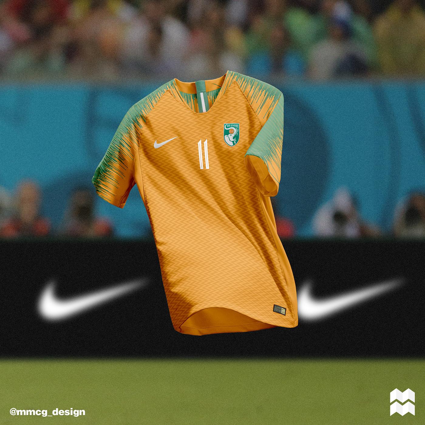 3f93a74d2ea7a Nike International Jerseys 2018 19 on Behance