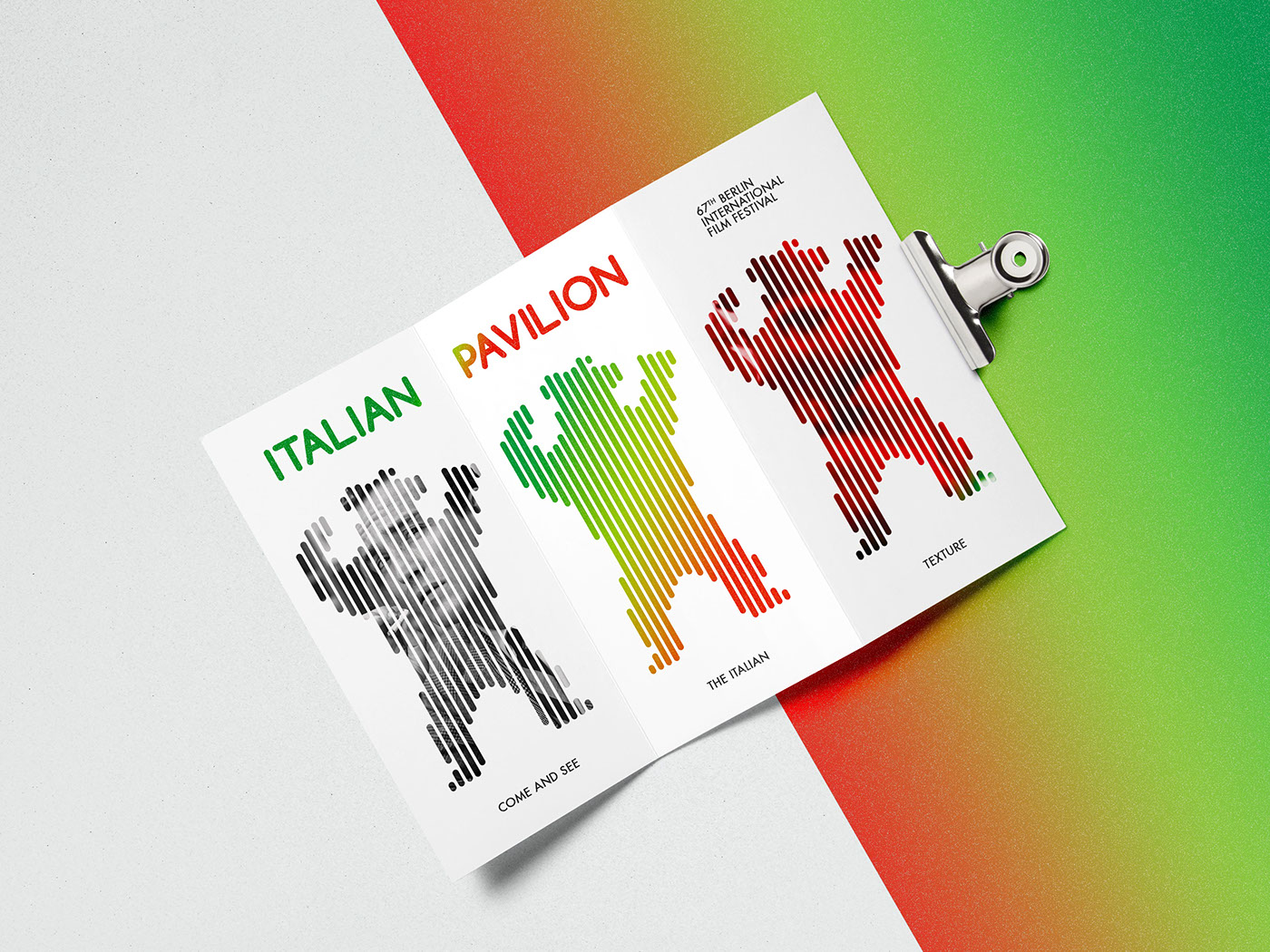 The Result Is A Textured Logo That Can Adopt Itself To Contain All Important Images Of Italy And Italian Movie Culture
