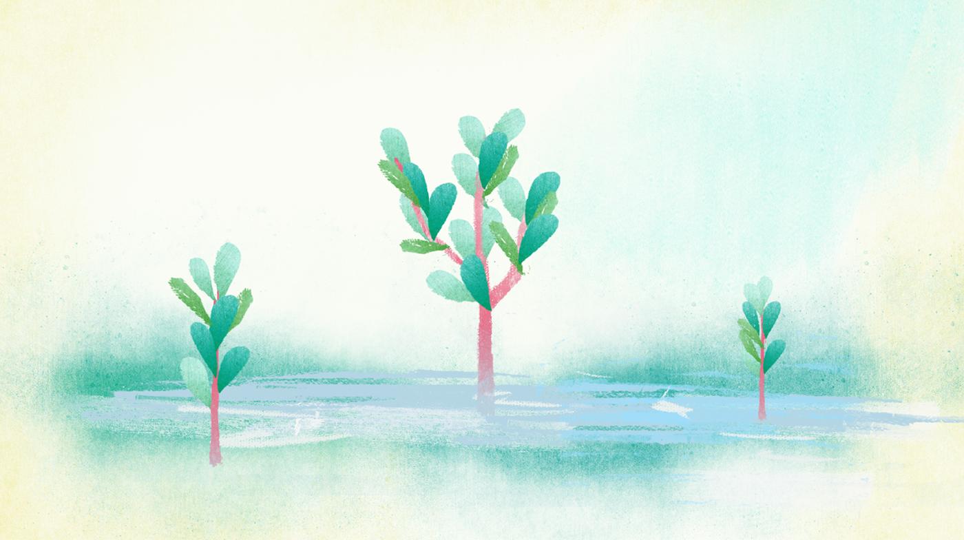 mangrove gobelins motion green 紅樹林 環境 enviroment