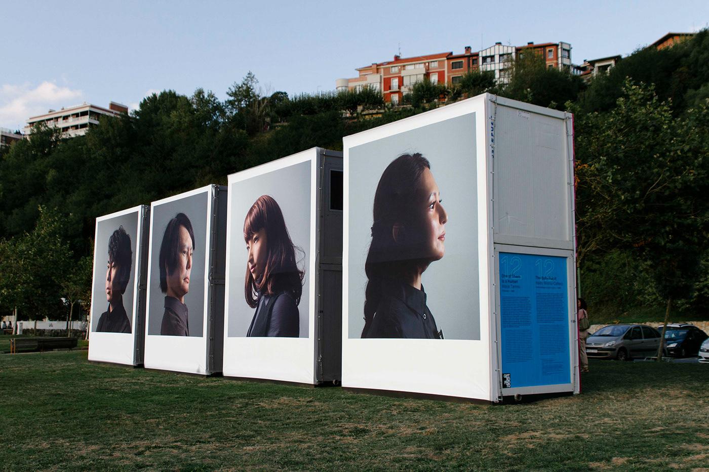 branding  Exhibition  exhibitiondesign festival festivalgraphics generative generativedesign motion visualidentity Getxophoto