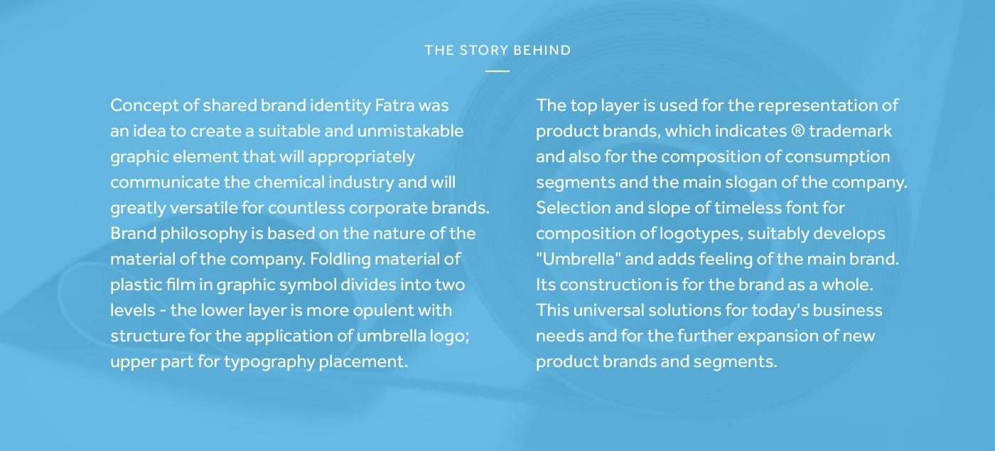 fatra ribbon concept stripe Corporate Identity CI thermofix