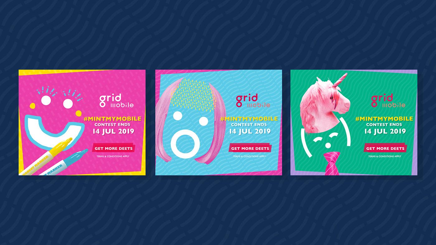 art direction  branding  copywriting  digital graphic design  Scriptwriting singapore social media Telecommunication video