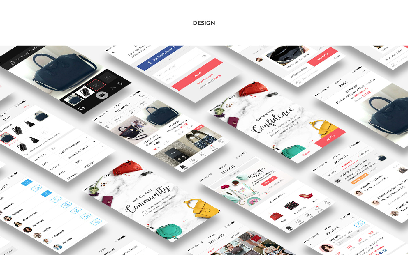 UI,ux,e-commerce,shopping app,user interface,user experience,Website,C2C,ios,android