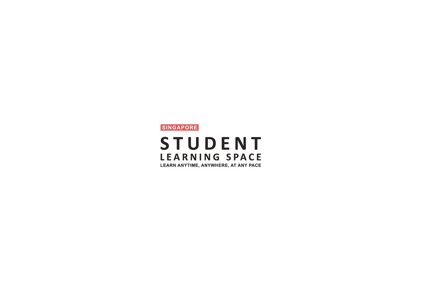 singapore student learning Space  portal Platform logo identity Fun Education