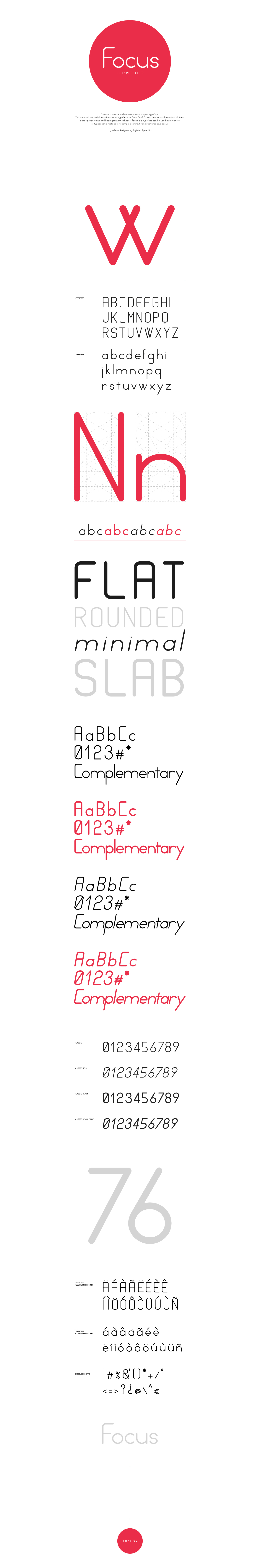 free Free font font type Typeface Focus