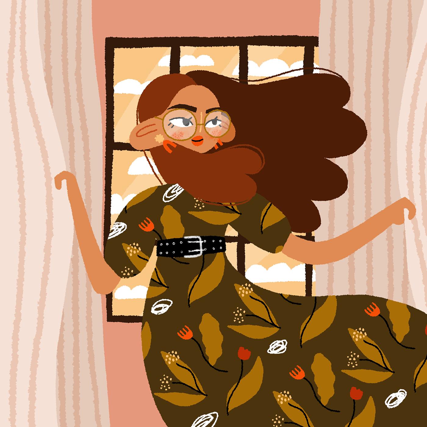 art digital ILLUSTRATION  Illustrator illustratrice