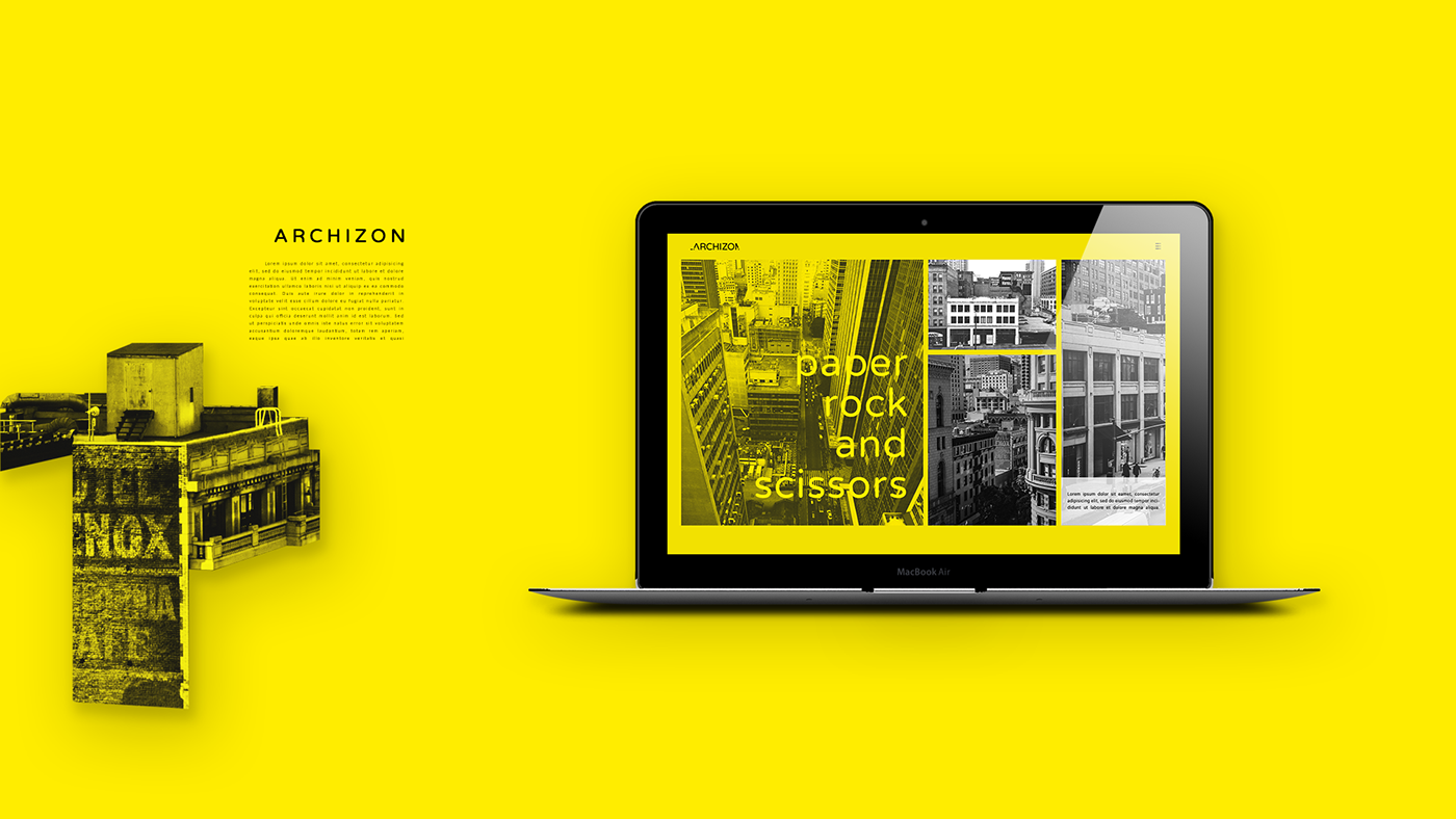 logo Logotype brand identity architecture visual identity yellow flat logo Logo Design