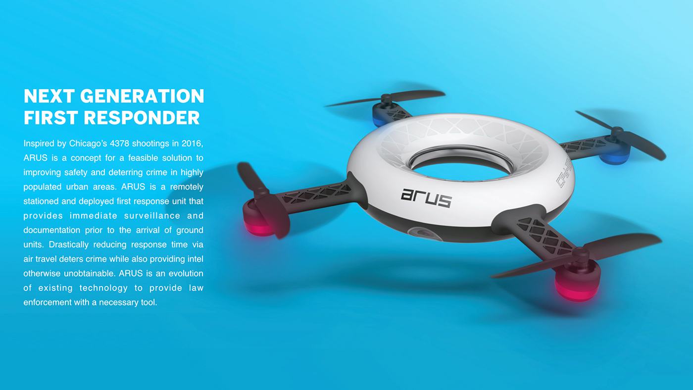 drone police law enforcement security quadcopter