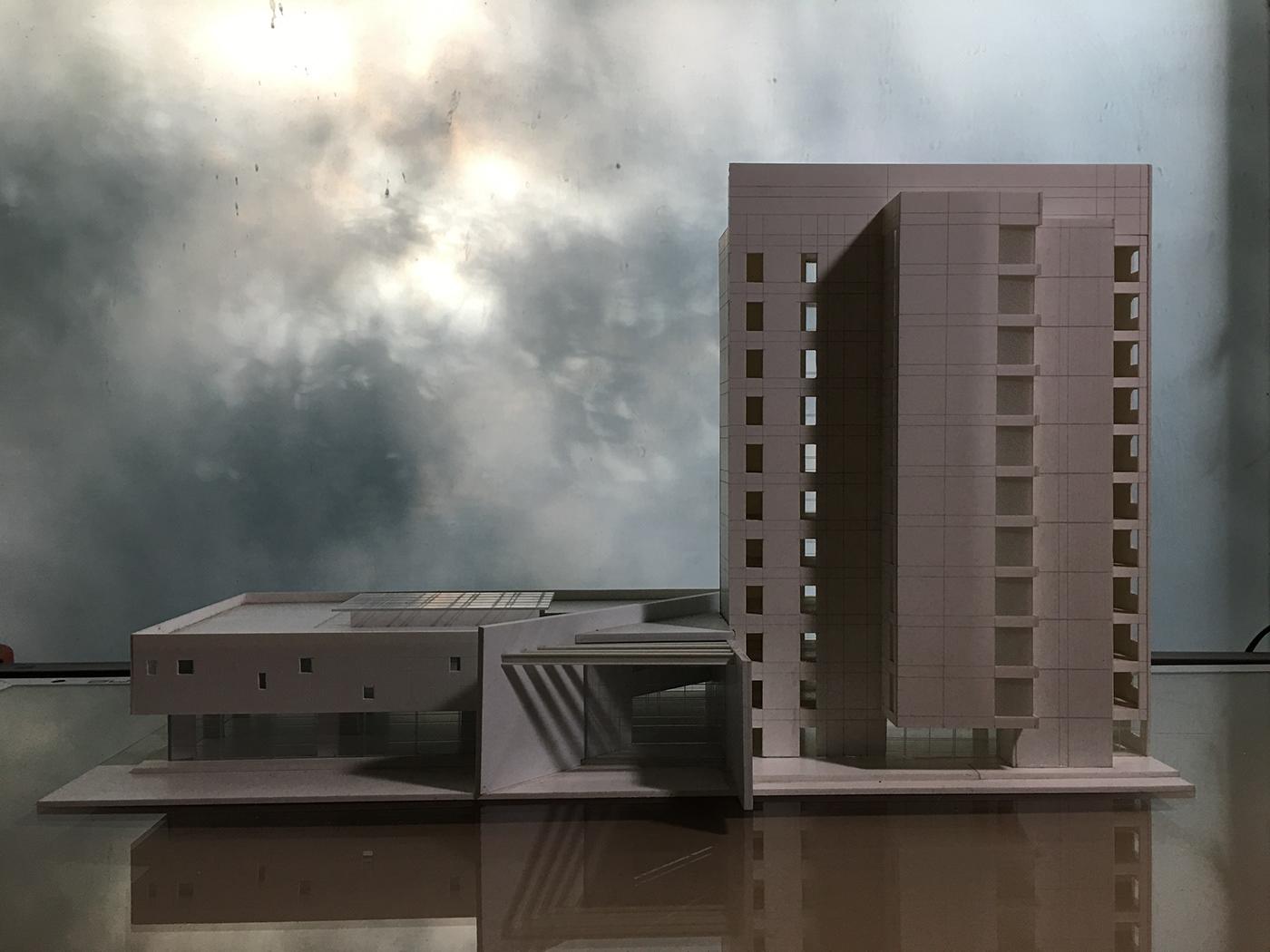 maquette Modellbau architectural model