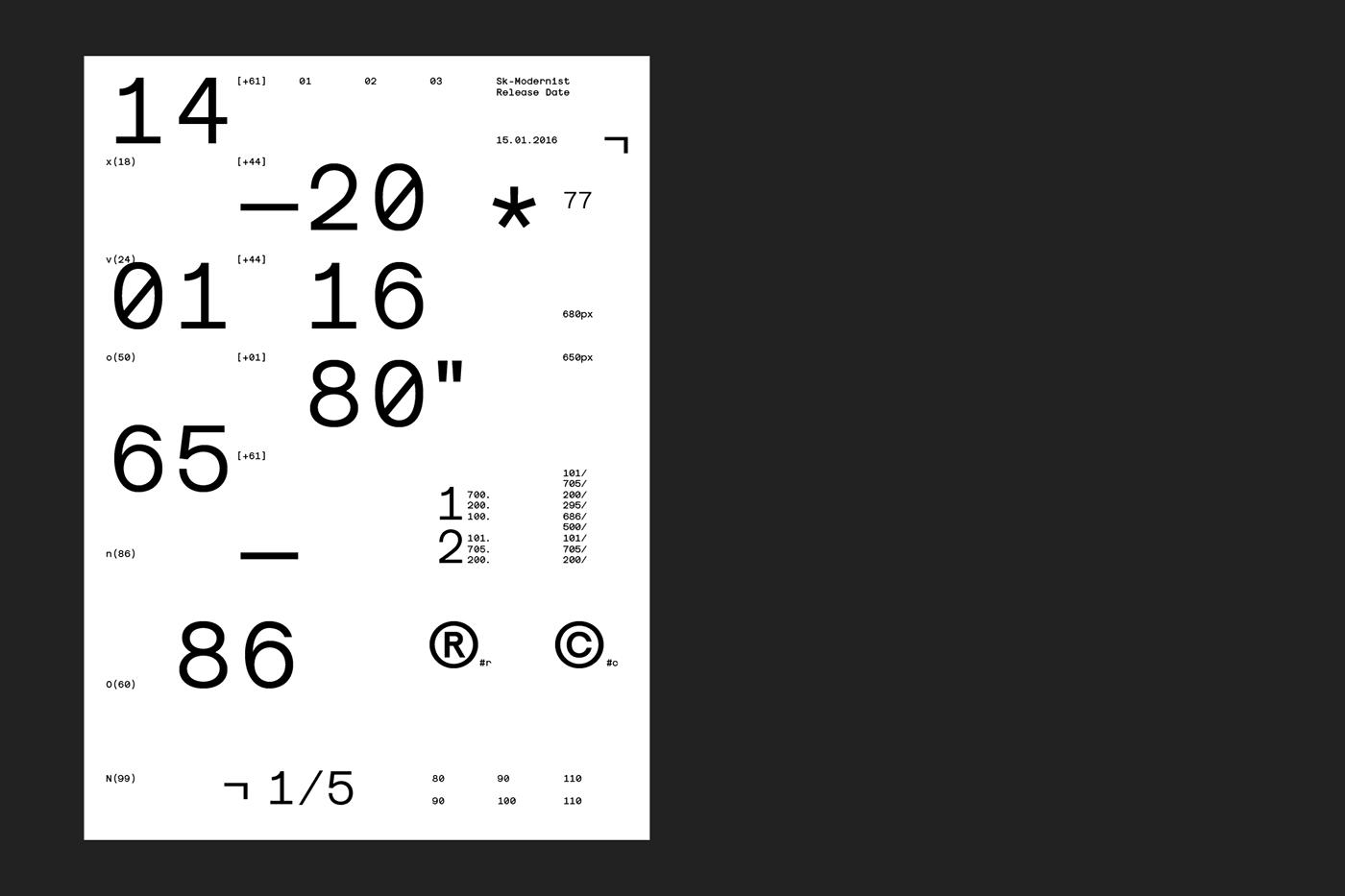 Monochromatic modernist minimalist sans serif monospaced helvetica Futura avant garde font clean vietnamese light Latin