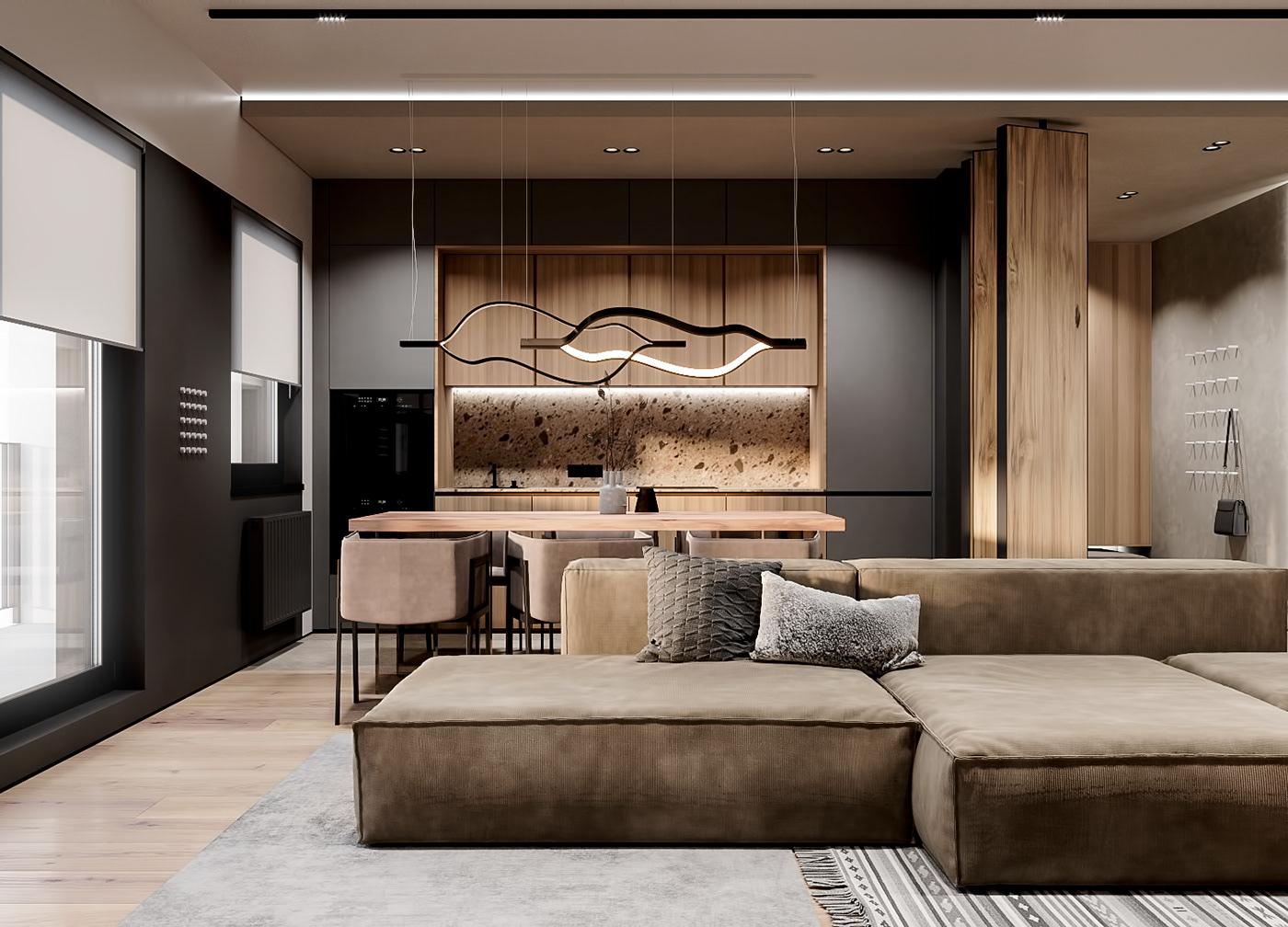 Cozy Apartment On Behance