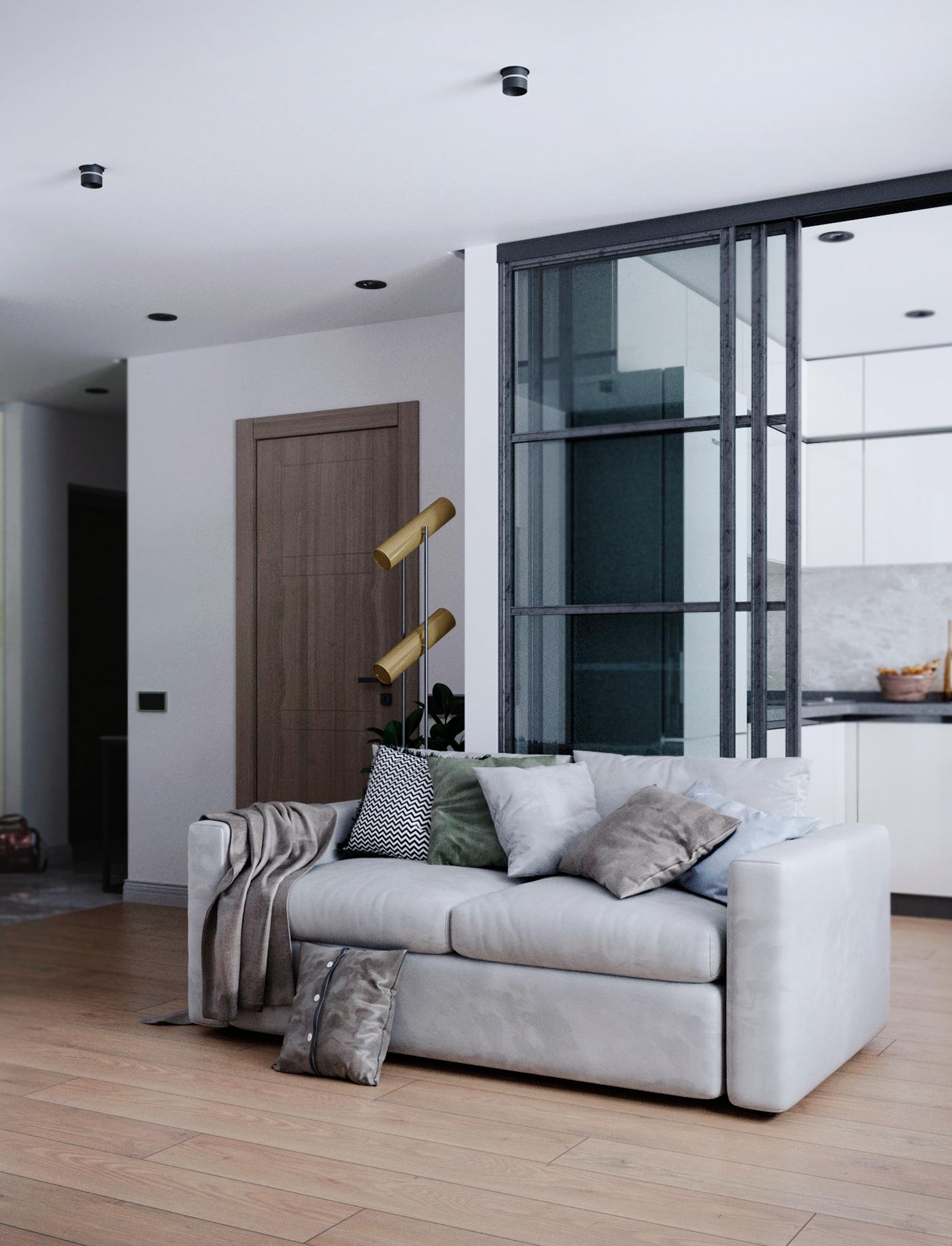 визуализация гостиная   дизайн интерьера