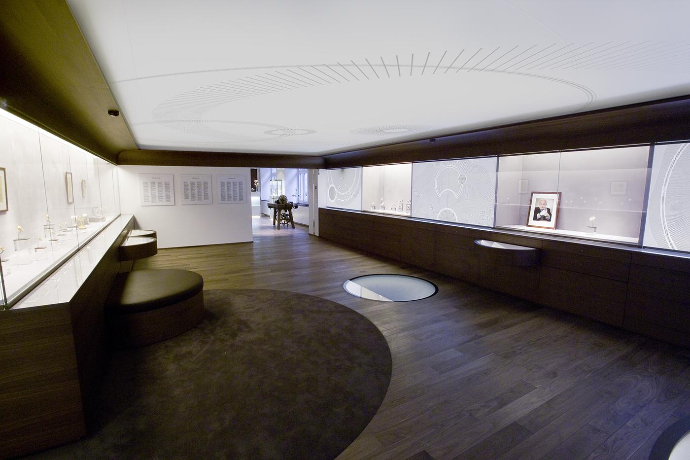 muséographie Breguet montre luxe graphisme Zurich