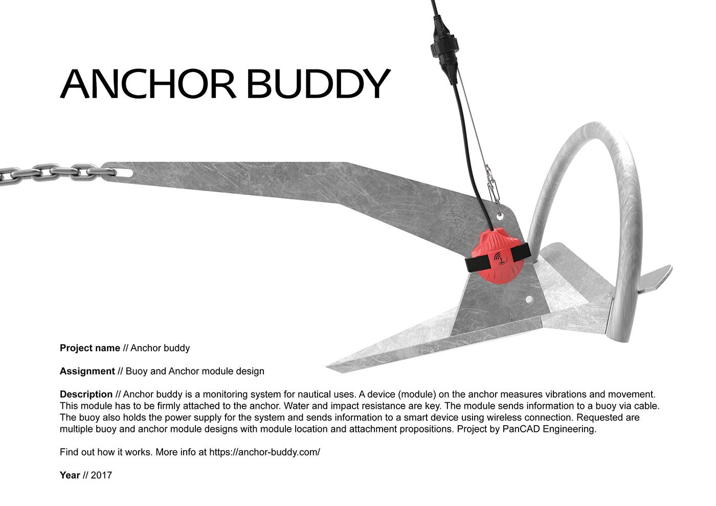 anchor monitor Monitoring buoy sailing yacht Nautic nautical