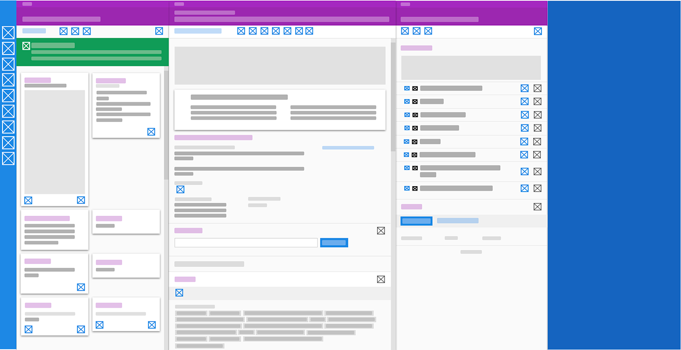 design system Immigration software user interface ux ux/ui web-based Design Sprint User research user testing