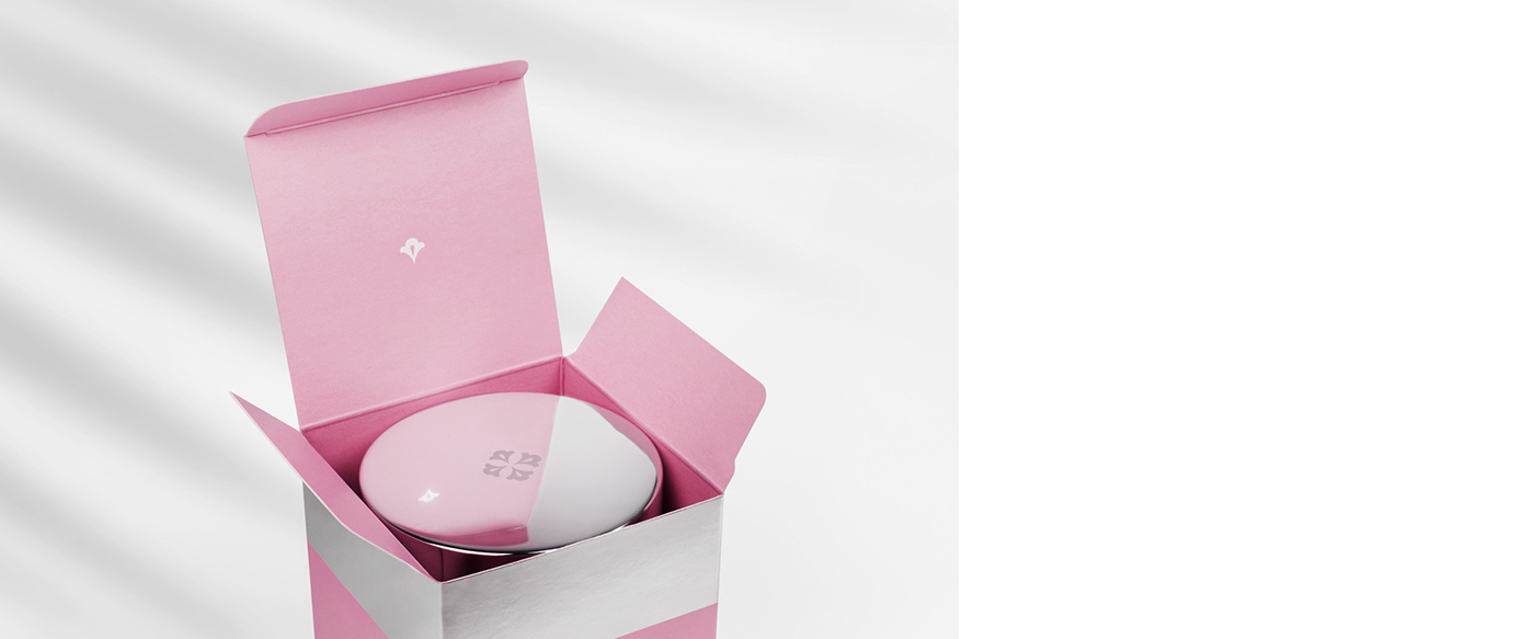 adrienne feller package cometics creme silver Hot Foil