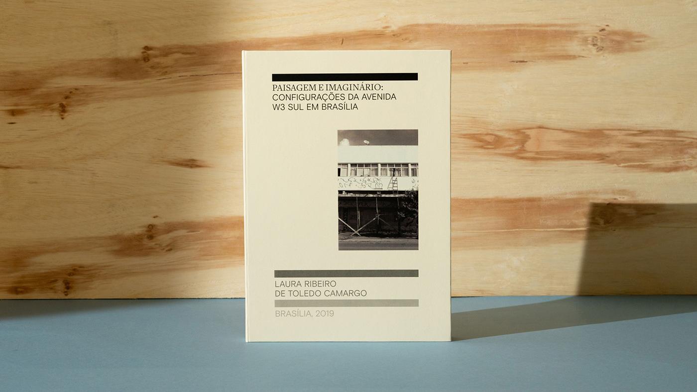 archtecture book brasilia Ediorial print