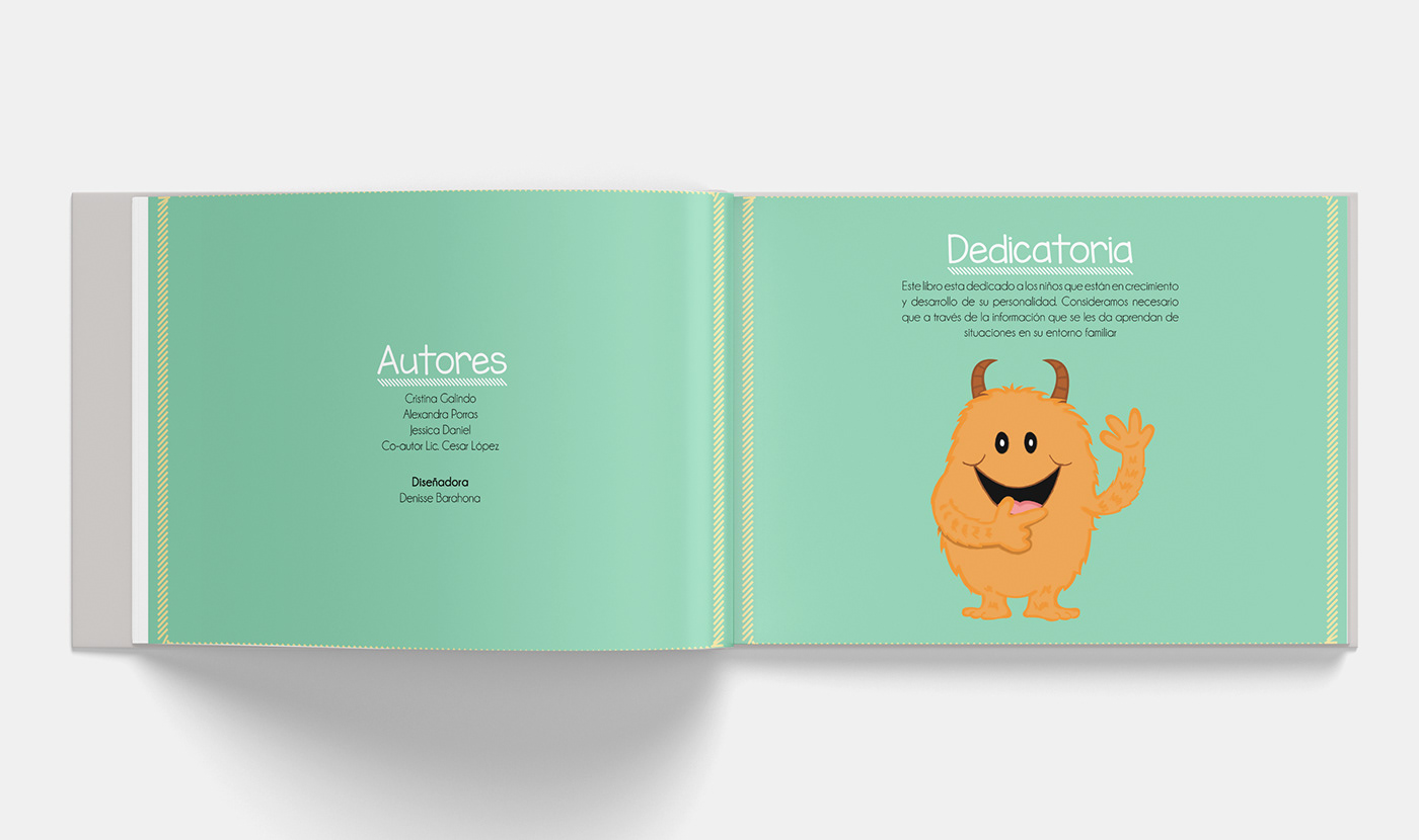 psychology Layout design ILLUSTRATION  book family intrafamily violence graphic design