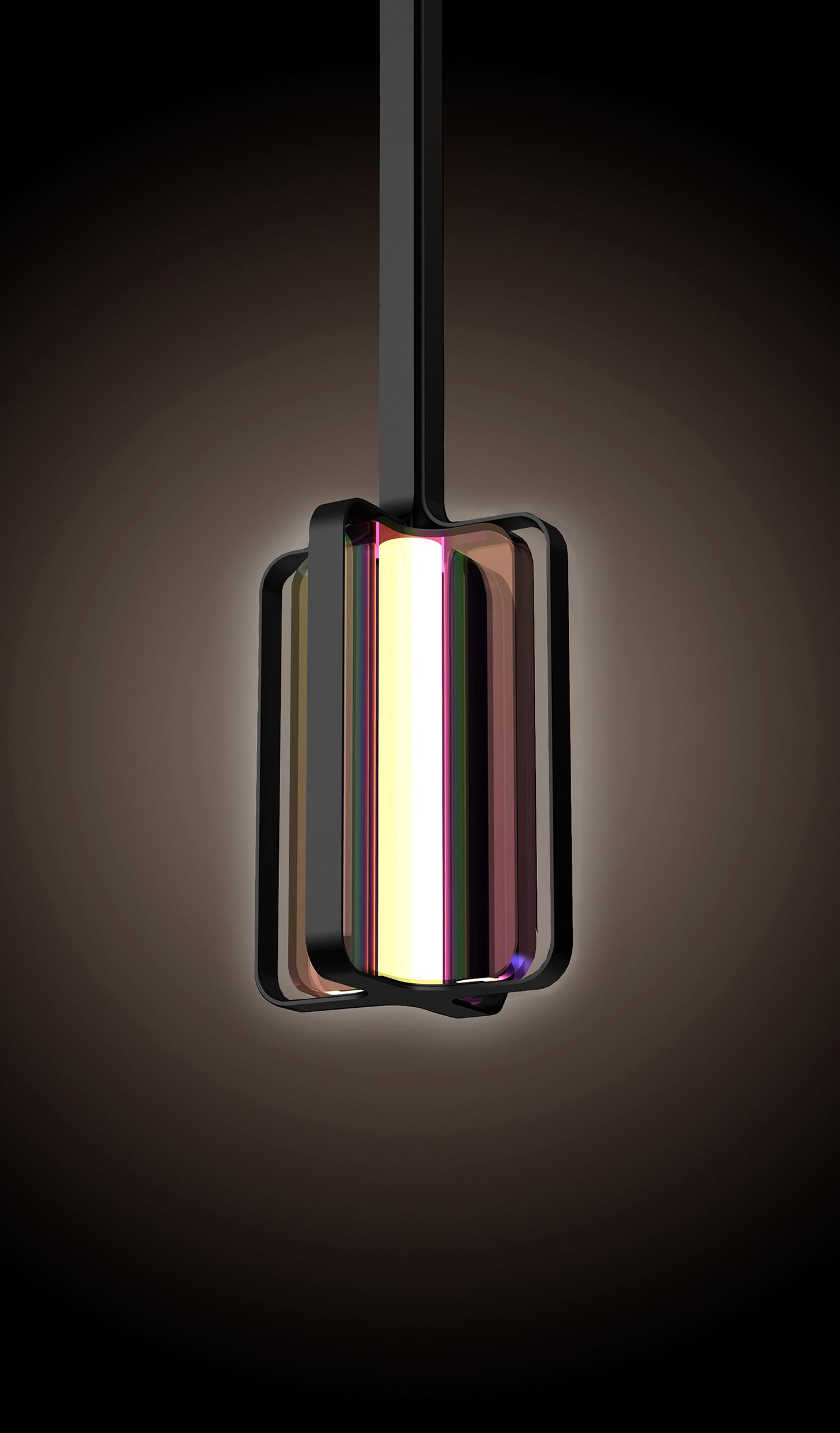luminaire design for hilton hotels on behance. Black Bedroom Furniture Sets. Home Design Ideas