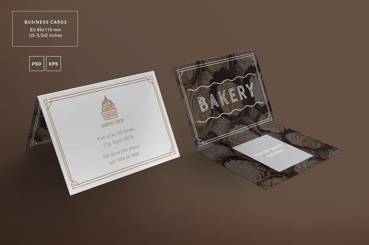 Bakery social media banners branding all in one on behance free fonts used only easy to edit and customize super clean and professionally designed illustrator document template reheart Images