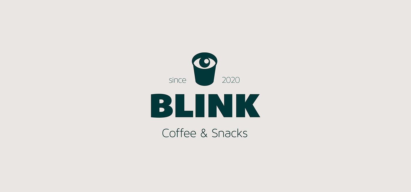 brand branding  Coffee eye graphic design  logo miminoshvili Label Packaging cafe