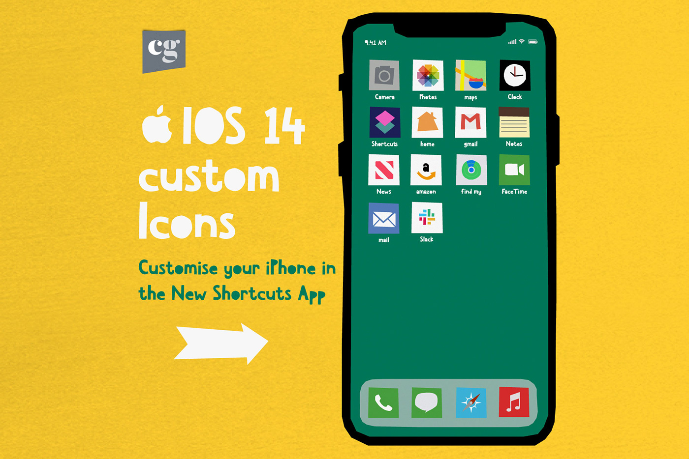 iOS 14 custom icons - customize your iPhon in the New Shortcuts App