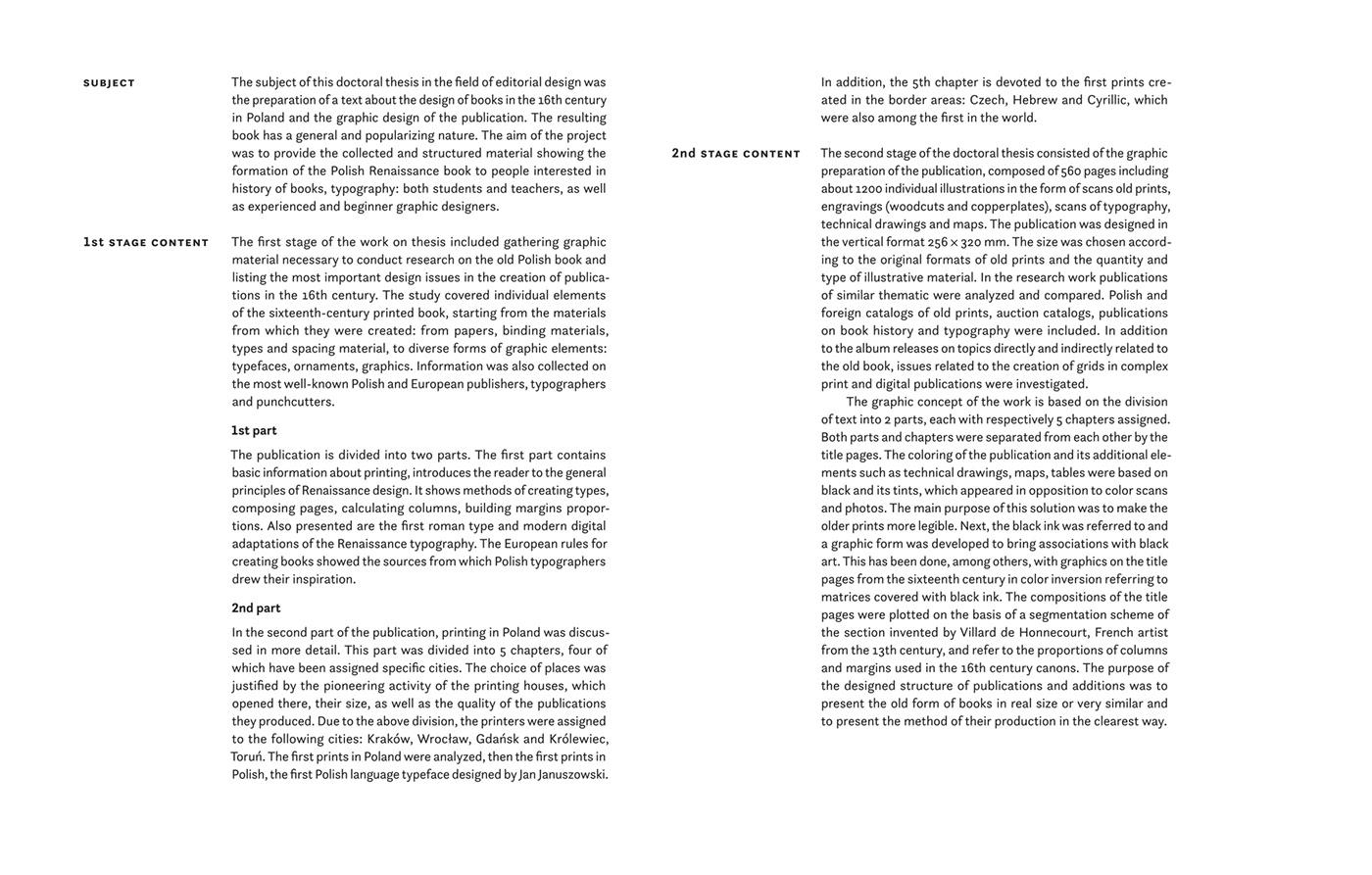 book design History of Typography Renaissance 16th Century Design roman type