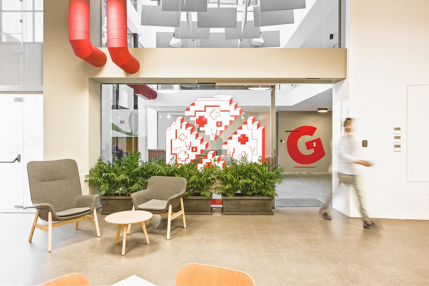 優秀的47張辦公室設計欣賞