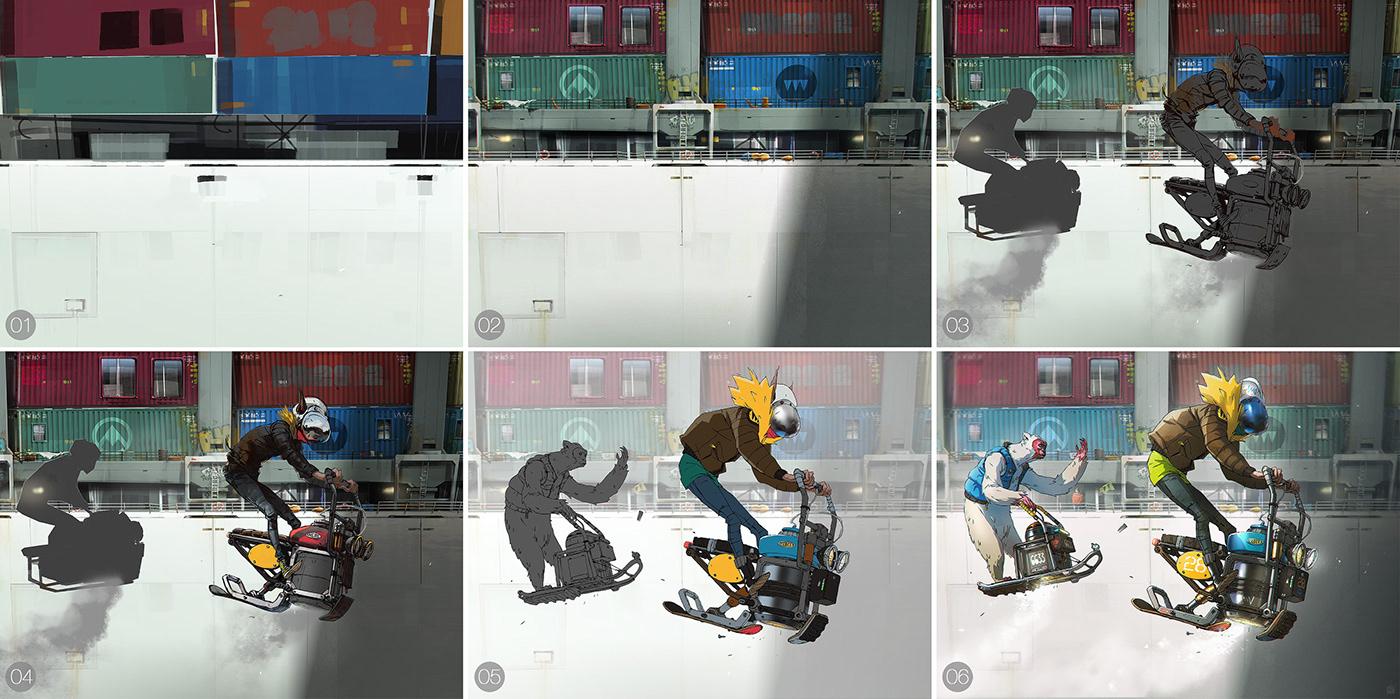 Image may contain: ice skating