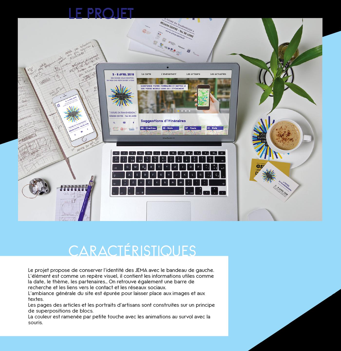 site web jema Responsive